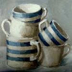 1179 - Cornishware Stack