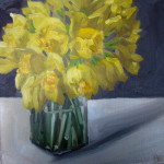 Double Daffs in Jar