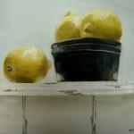 Lemons in ramekin