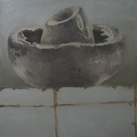 Mushroom on Tiles