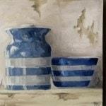 Cornishware Jars