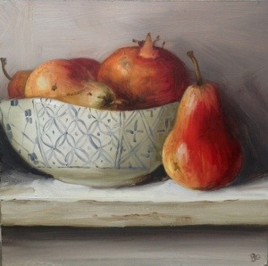 Pears and Pomegranates