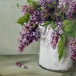 Lilac in a jug