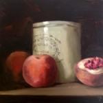 Peaches and Marmalade Pot