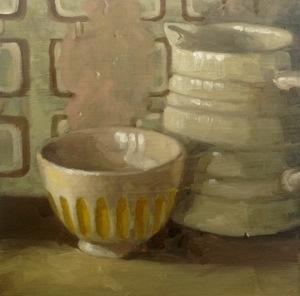 Jug and bowl #1408