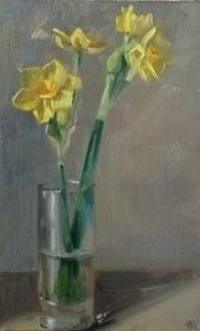 1563 - Narcissi stems