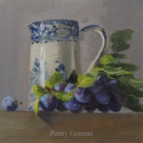 1621 - Damsons and Blue Jug