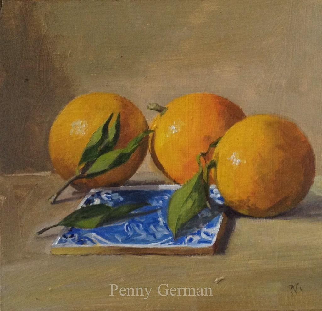 1637 oranges and Multan tile
