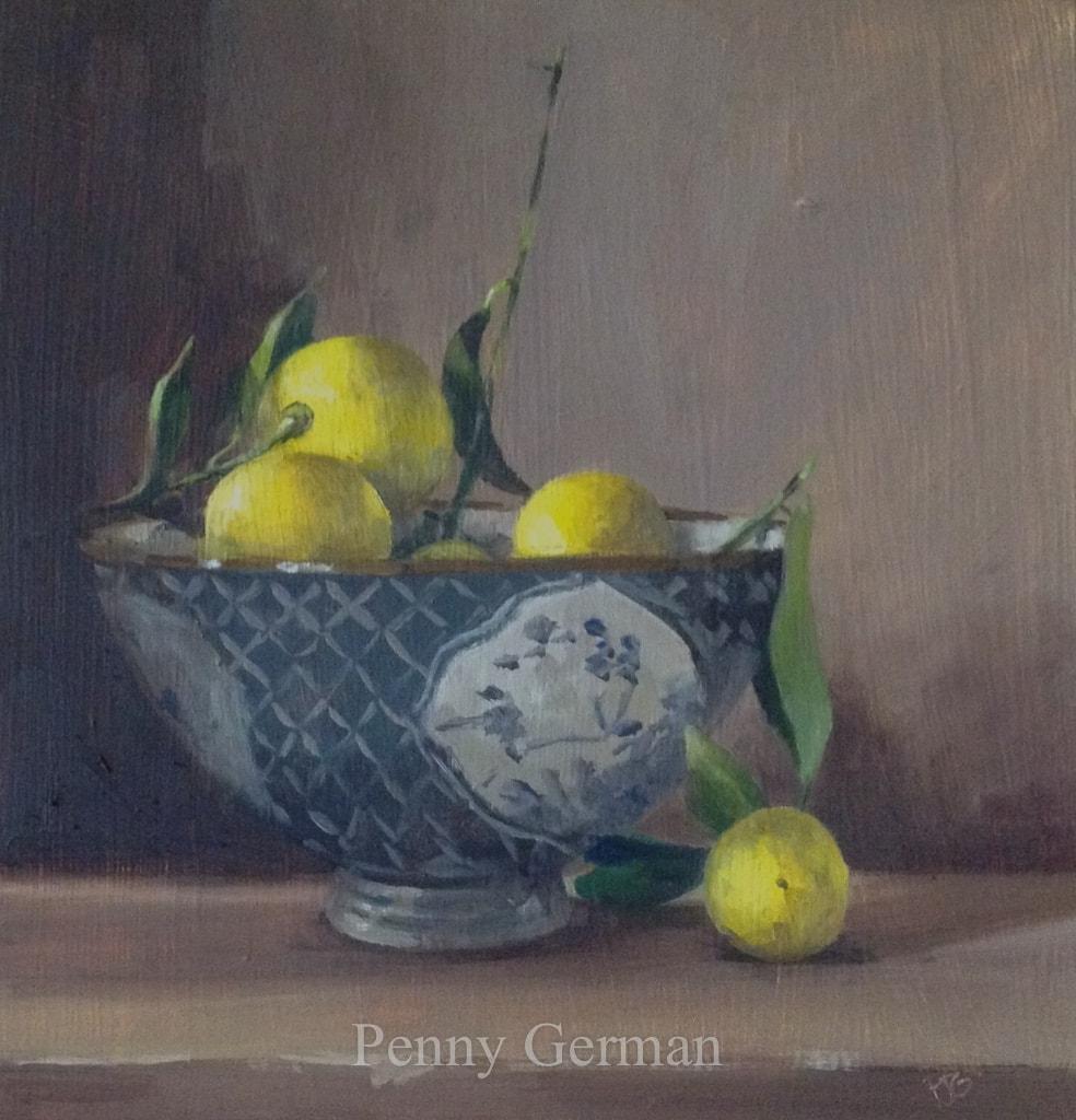 1662 baby lemons and bowl