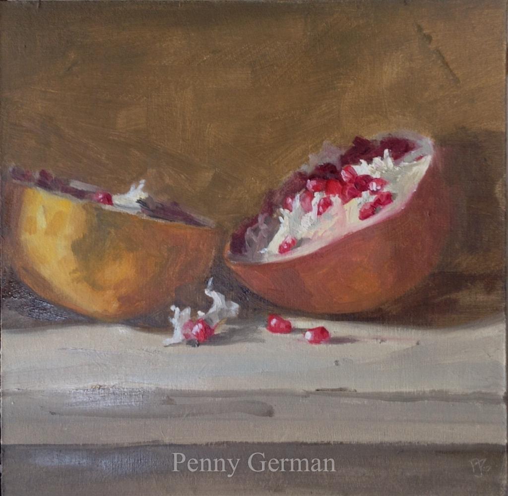 1675 pomegranate halves