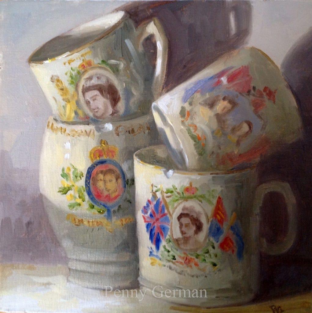1710 coronation mugs