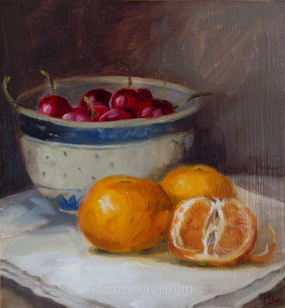 1730 Cherries and Satsumas