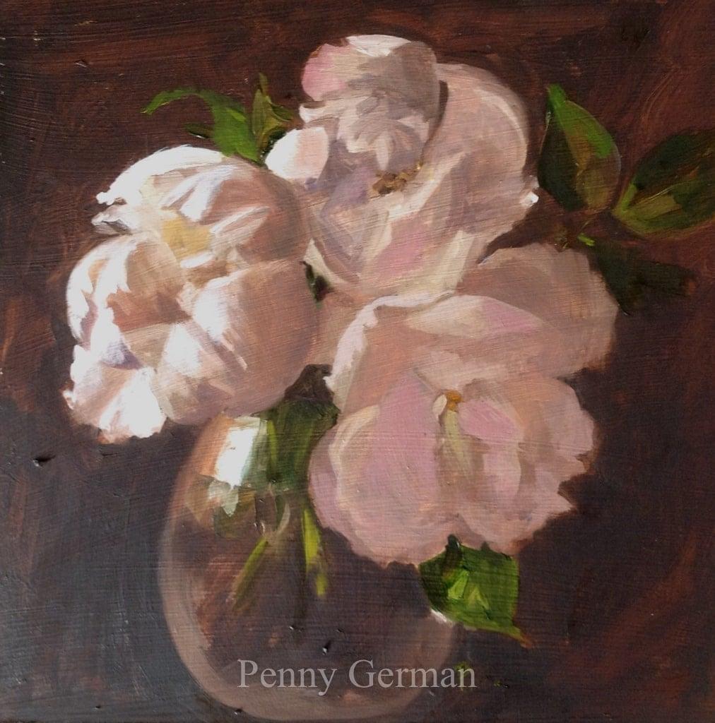 1735 cream roses
